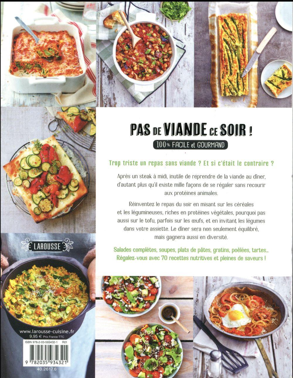Repas Du Soir Sans Viande : repas, viande, Viande, Recettes, Facile, Gourmand, Collectif, Larousse, Grand, Format, Librairie, Maupetit, MARSEILLE