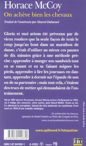 On Achève Bien Les Chevaux Livre : achève, chevaux, livre, Acheve, Chevaux, Horace, Mccoy, Gallimard, Poche, Librairie, PARIS