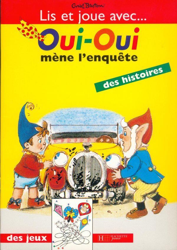 Oui Oui Mene L Enquete : enquete, Oui-oui, L'enquete, Blyton/Bazin, Hachette, Jeunesse, Grand, Format, Librerit, Carouge