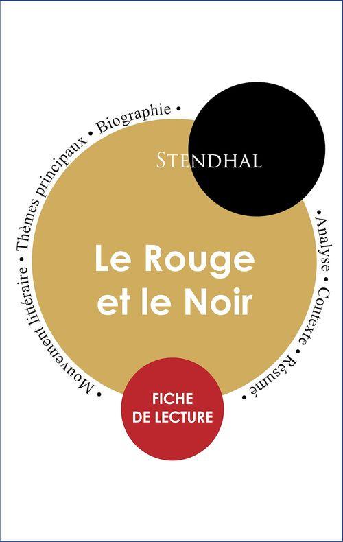 Le Rouge Et Le Noir Fiche De Lecture : rouge, fiche, lecture, Étude, Intégrale, Rouge, (fiche, Lecture,, Analyse, Résumé), Stendhal, Paideia, éducation, Ebook, (ePub), Livre, NANCY