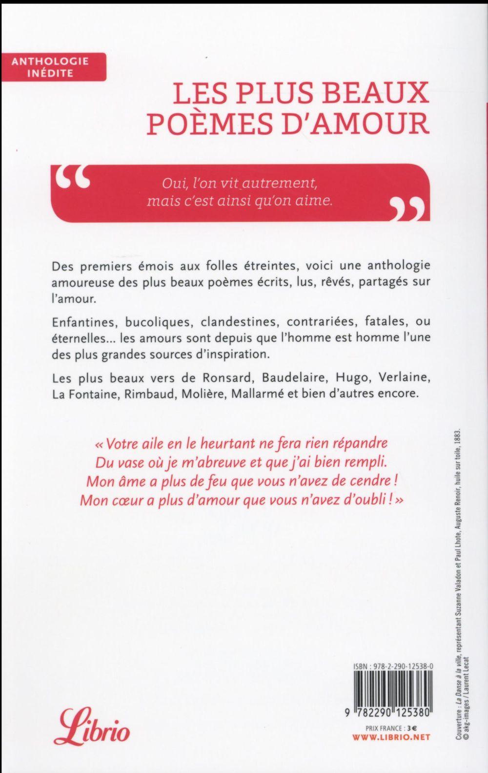 Les Plus Beau Poeme D Amour : poeme, amour, Beaux, Poèmes, D'amour, Anthologie, Marie-Anne, Poche, Librairie, Paris, PARIS