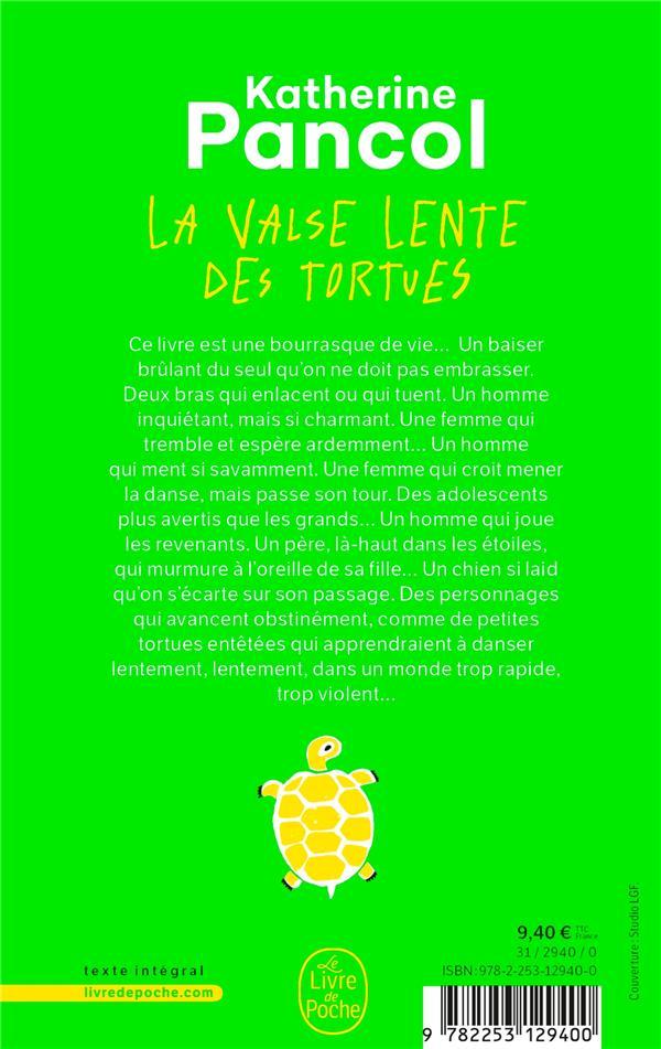 La Valse Lente Des Tortues Film : valse, lente, tortues, Valse, Lente, Tortues, Katherine, Pancol, Librairie, Generale, Francaise, Poche, Place, Libraires