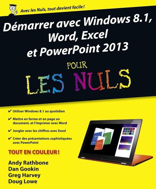 Windows 8.1 Pour Les Nuls : windows, Démarrer, Windows, Word,, Excel, Powerpoint, Rathbone, First, Interactive, Ebook, (ePub), Kazabul, Martinique, FRANCE