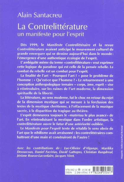 Comment Se Manifeste Les Esprits : comment, manifeste, esprits, Contrelitterature, Manifeste, L'esprit, Philippe, Barthelet, Rocher, Grand, Format, Livre, NANCY