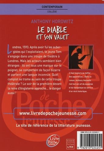 Le Diable Et Son Valet : diable, valet, Diable, Valet, Anthony, Horowitz, Hachette, Jeunesse, Grand, Format, KITAB, TUNIS, COLISEE