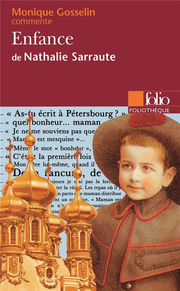 Enfance (nathalie Sarraute) : enfance, (nathalie, sarraute), Enfance, Nathalie, Sarraute, (essai, Dossier), Gosselin-Noat, Gallimard, Poche, Livre, NANCY