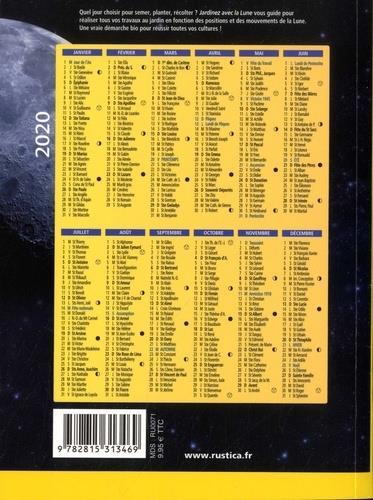 Calendrier Lunaire Septembre 2019 Rustica : calendrier, lunaire, septembre, rustica, Jardinez, (édition, 2020), Céleste, Rustica, Papeterie, Coloriage, Place, Libraires