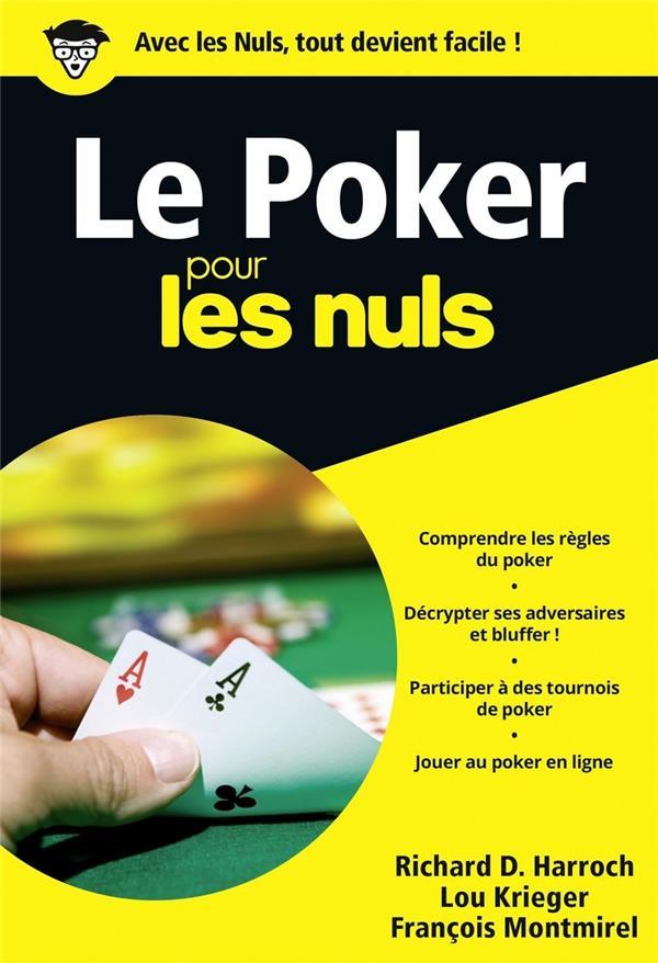 Le Poker Pour Les Nuls : poker, Poker