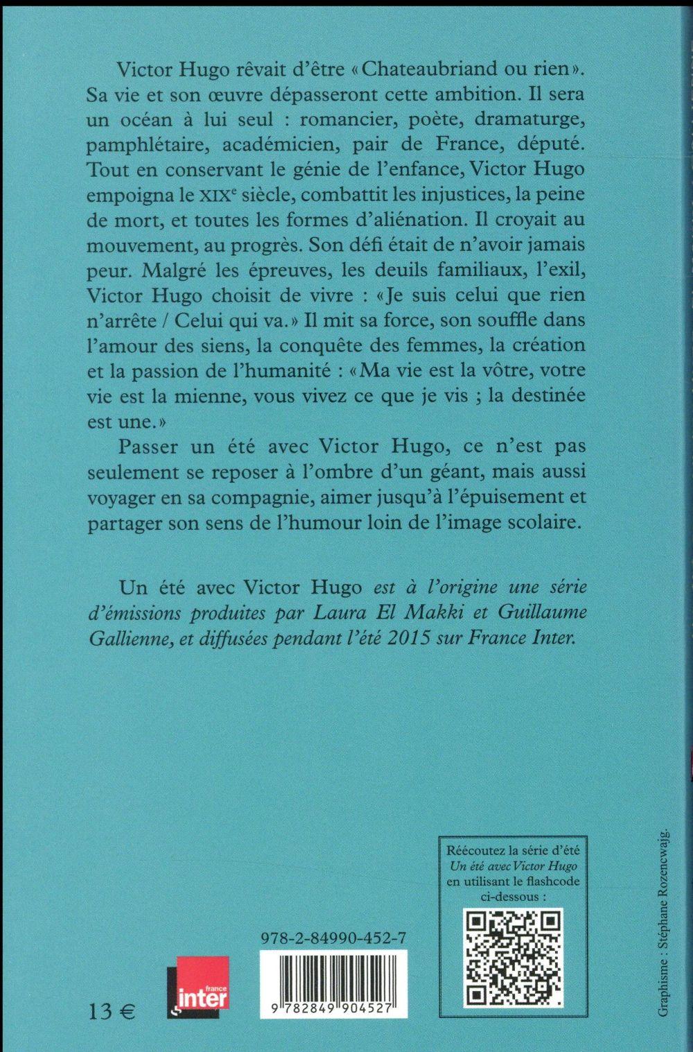 Un été Avec Victor Hugo : été, victor, Victor, Laura, Makki,, Guillaume, Galienne, Equateurs, Poche, Espace, Culturel, Leclerc
