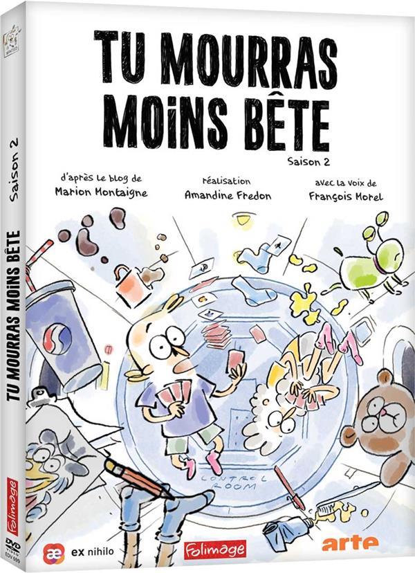 Tu Mourras Moins Bete Saison 3 : mourras, moins, saison, Mourras, Moins, Bête, Saison, Amandine, Fredon, Folimage, Potemkine, PARIS
