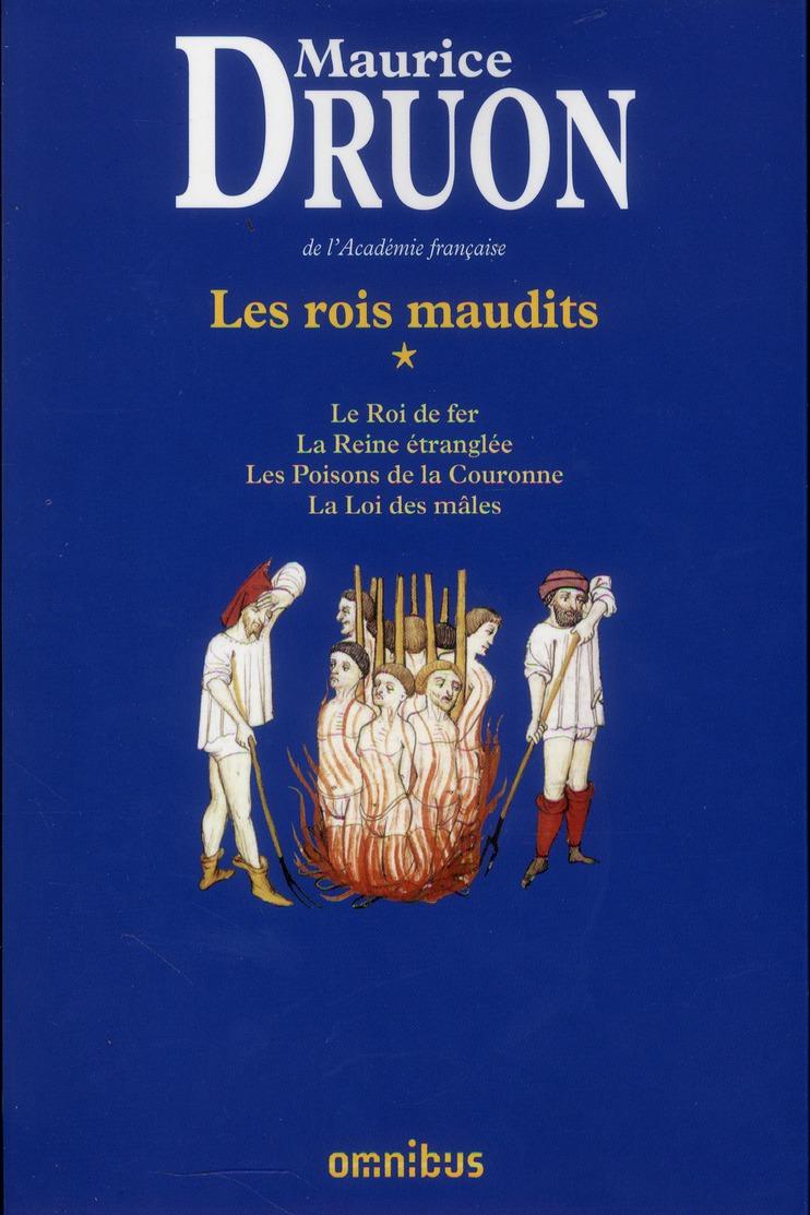 Maurice Druon Les Rois Maudits : maurice, druon, maudits, Maudits, INTEGRALE, VOL.1, Maurice, Druon, Omnibus, Grand, Format, Livre, NANCY