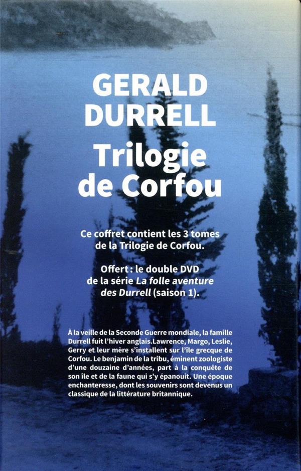 La Folle Aventure Des Durrell : folle, aventure, durrell, Trilogie, Corfou, Gérald, Durrell, Table, Ronde, Livre, NANCY