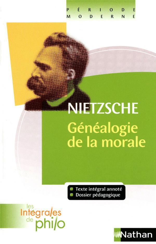 Nietzsche Généalogie De La Morale : nietzsche, généalogie, morale, Généalogie, Morale, Friedrich, Nietzsche,, Jacques, Deschamps, Nathan, Poche, Espace, Culturel, Leclerc