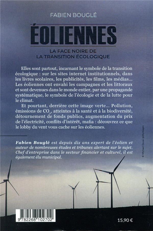 éoliennes : la face noire de la transition écologique - Fabien Bougle -  Rocher - Grand format - Espace Culturel Leclerc ST LEU