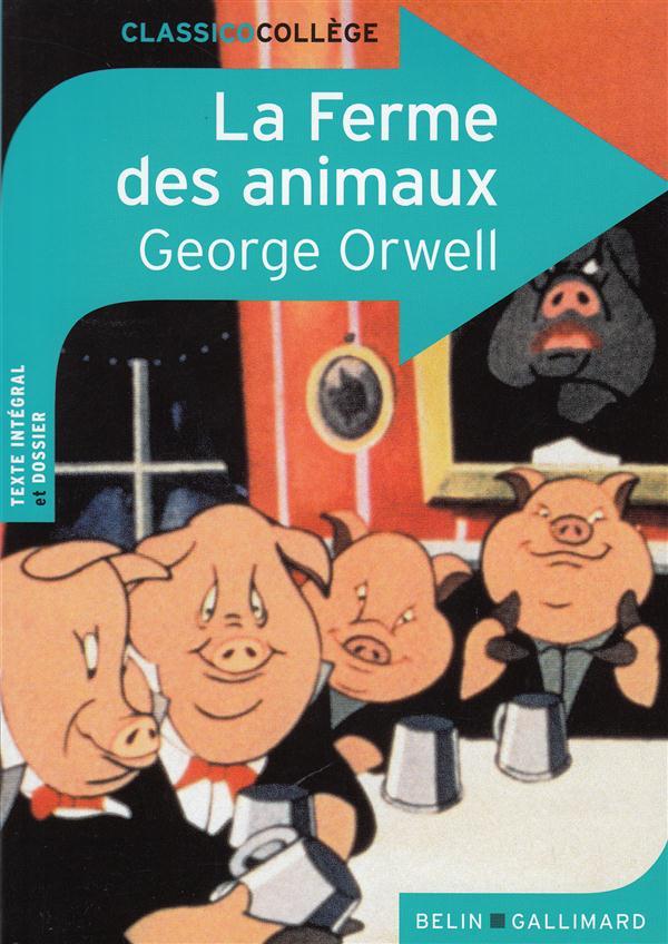 La Ferme Des Animaux Pdf : ferme, animaux, Ferme, Animaux, Georges, Orwell,, Virginie, Manouguian, Belin, Education, Poche, Livre, NANCY