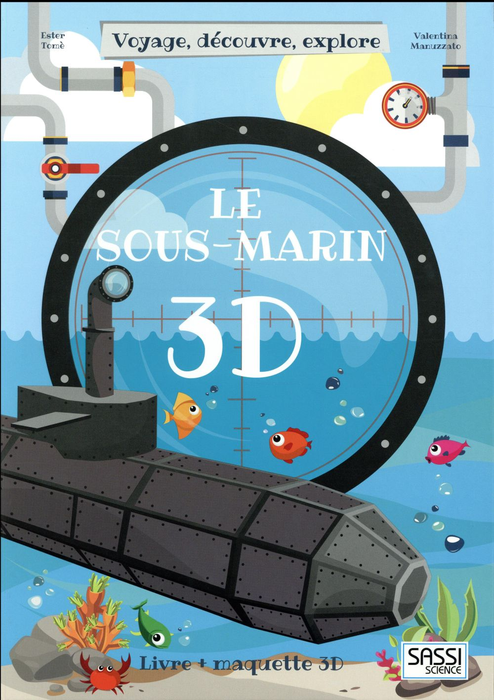 3D cartoon ; le sous-marin