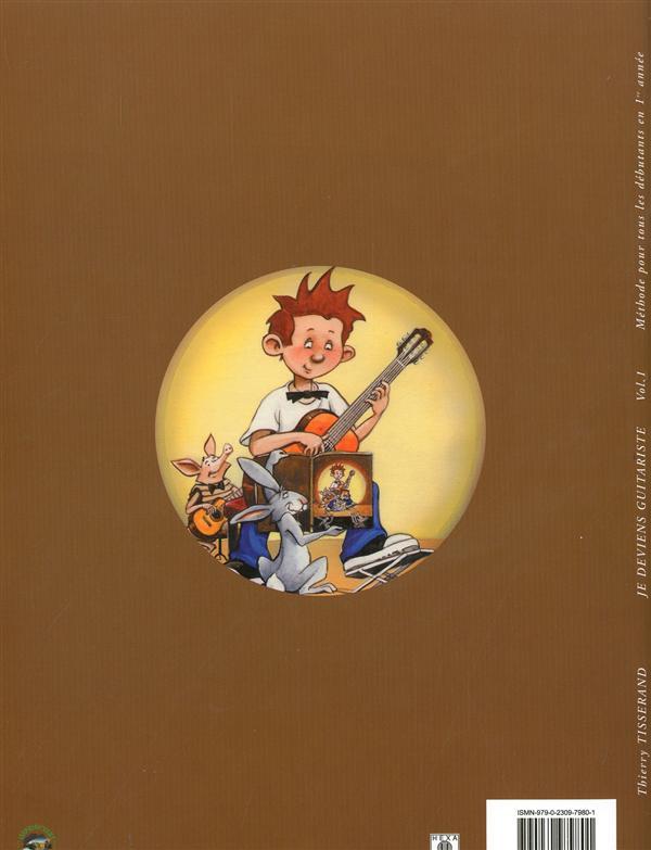 Je Deviens Guitariste Volume 1 : deviens, guitariste, volume, Deviens, Guitariste, Vol.1+, Tisserand, Thierry, Henry, Lemoine, Grand, Format, Livre, NANCY