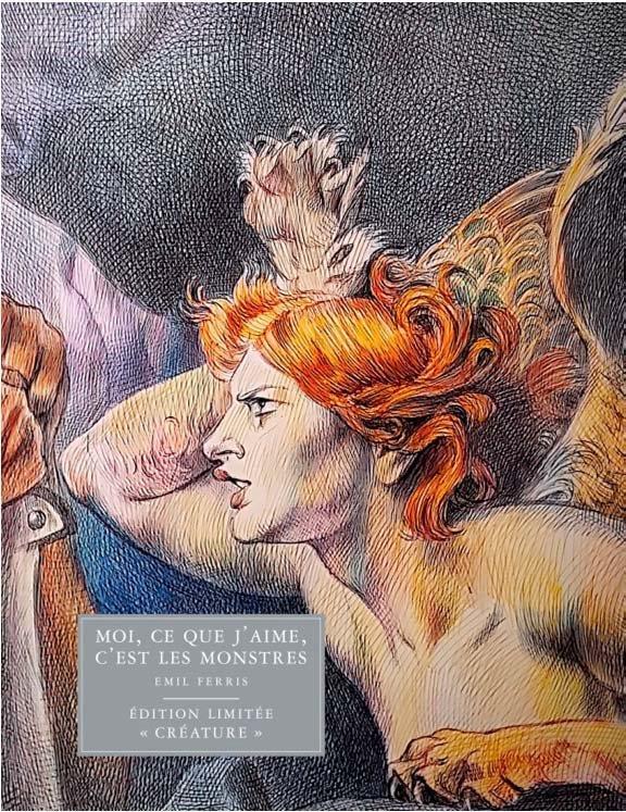 Moi Ce Que J'aime C'est Les Monstres Tome 2 : j'aime, c'est, monstres, J'aime,, C'est, Monstres, Ferris, Monsieur, Toussaint, Louverture, Grand, Format, Albertine, New-York