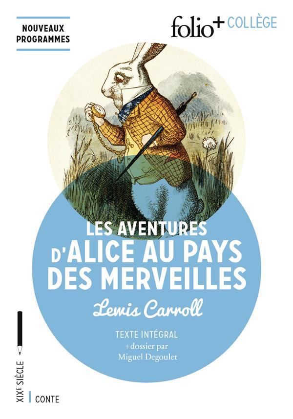 Lapin D'alice Au Pays Des Merveilles : lapin, d'alice, merveilles, Aventures, D'Alice, Merveilles, Lewis, Carroll, Gallimard, Poche, Livre, NANCY
