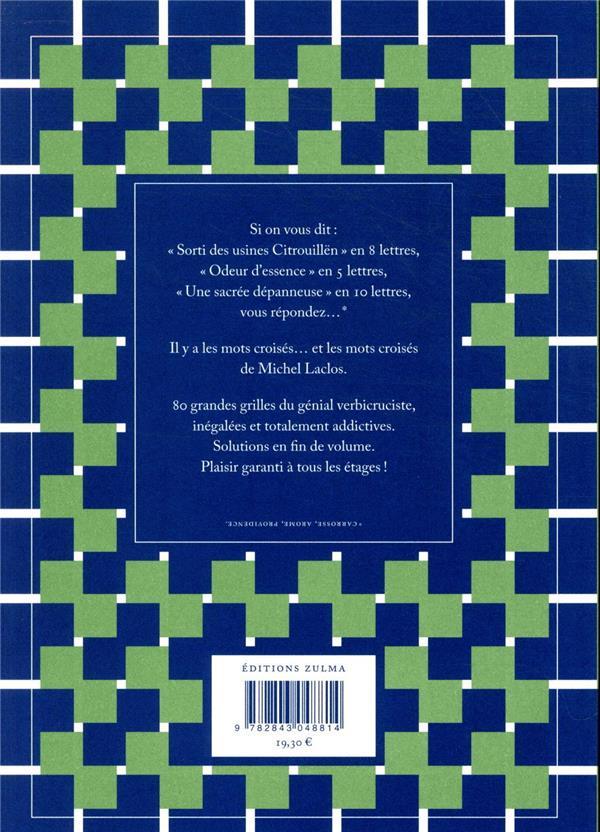 Un Sacre Cadeau Mots Croises : sacre, cadeau, croises, Croisés, Grandes, Grilles, Michel, Laclos, Zulma, Grand, Format, Livre, NANCY
