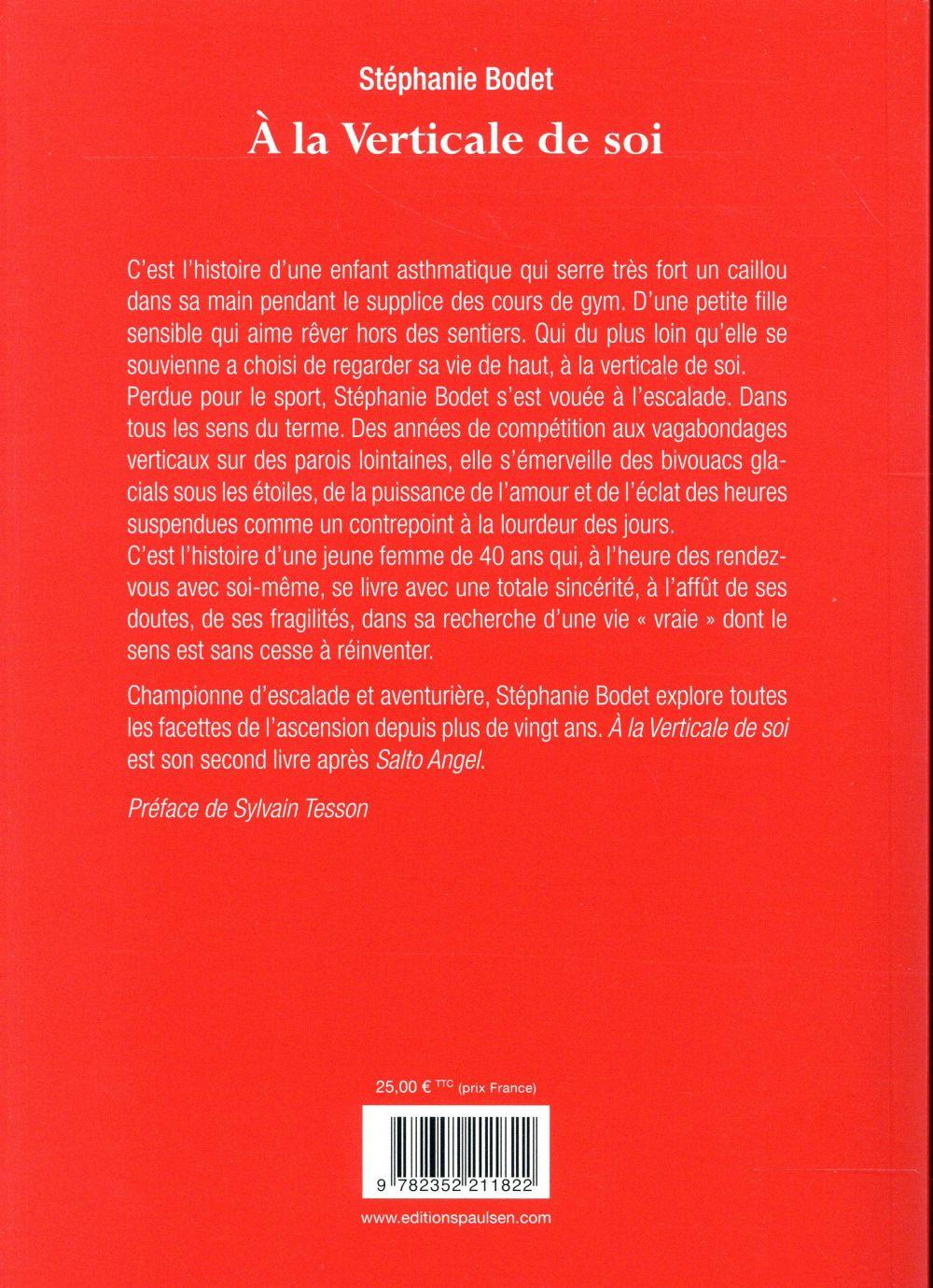 A La Verticale De Soi : verticale, Verticale, Stéphanie, Bodet, Guerin, Grand, Format, Paris, Librairies