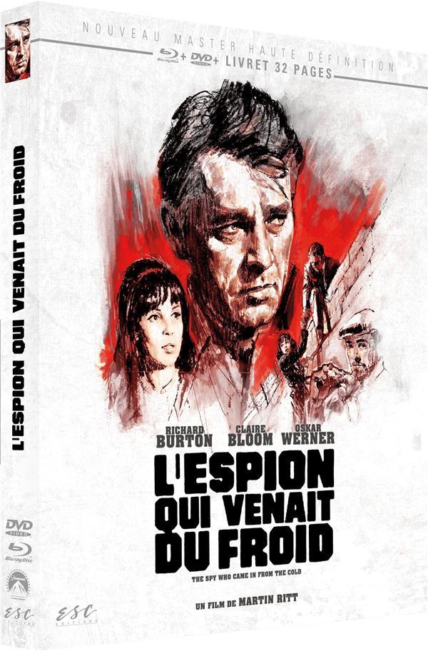 L'espion Qui Venait Du Froid : l'espion, venait, froid, L'Espion, Venait, Froid, Martin, Editions, Blu-ray, Potemkine, PARIS