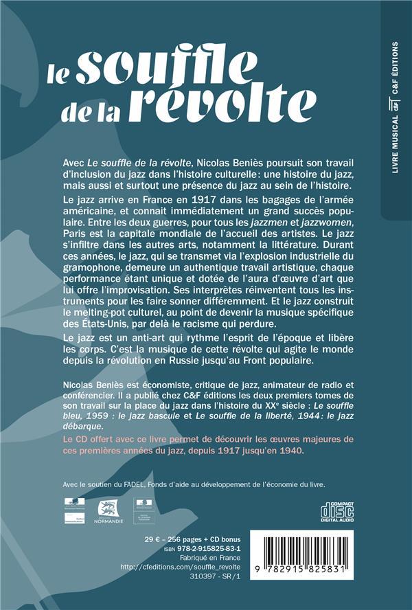 Quand Le Jazz Est Là : quand, Souffle, Révolte,, 1917-1936, Quand, Nicolas, Béniès, Editions, Grand, Format, Livre, NANCY
