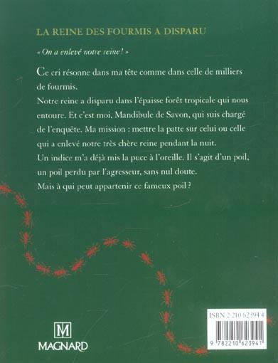La Reine Des Fourmis A Disparu : reine, fourmis, disparu, D'histoires, Reine, Fourmis, Disparu, (édition, 2004), Bernard,, François, Magnard, Poche, KITAB, TUNIS, COLISEE