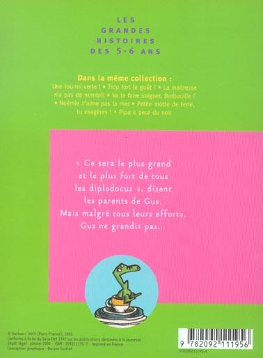 Qu Est Ce Qui Fait Grandir : grandir, Qu'est-ce, Grandir, Diplodocus, Didier, Lévy,, Coralie, Gallibour, Nathan, Grand, Format, Vivement, Dimanche
