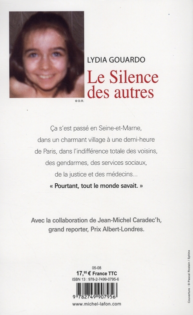 Le Silence Des Autres Lydia Gouardo : silence, autres, lydia, gouardo, Silence, Autres, Lydia, Gouardo, Michel, Lafon, Grand, Format, Livre, NANCY