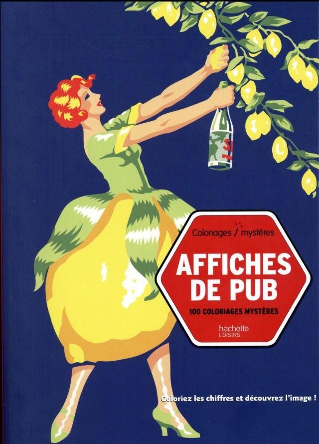 Affiches de publicité - Christophe-Alexis Perez - Hachette