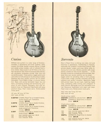 The Epiphone Casino