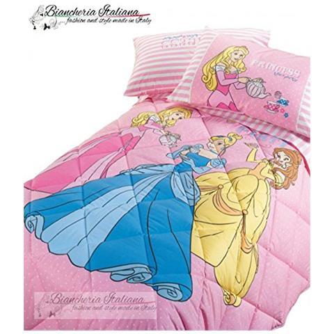 Colorata trapunta minnie piazza e mezza (220x265 cm), modello minnie gaia della collezione disney caleffi. Caleffi Disney Trapunta Princess Royal Le Tre Principesse Una Piazza 1 Posto Colore Rosa Eprice