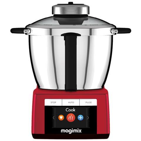 magimix robot da cucina cook expert capacita 3 5 l potenza 1700 w colore rosso