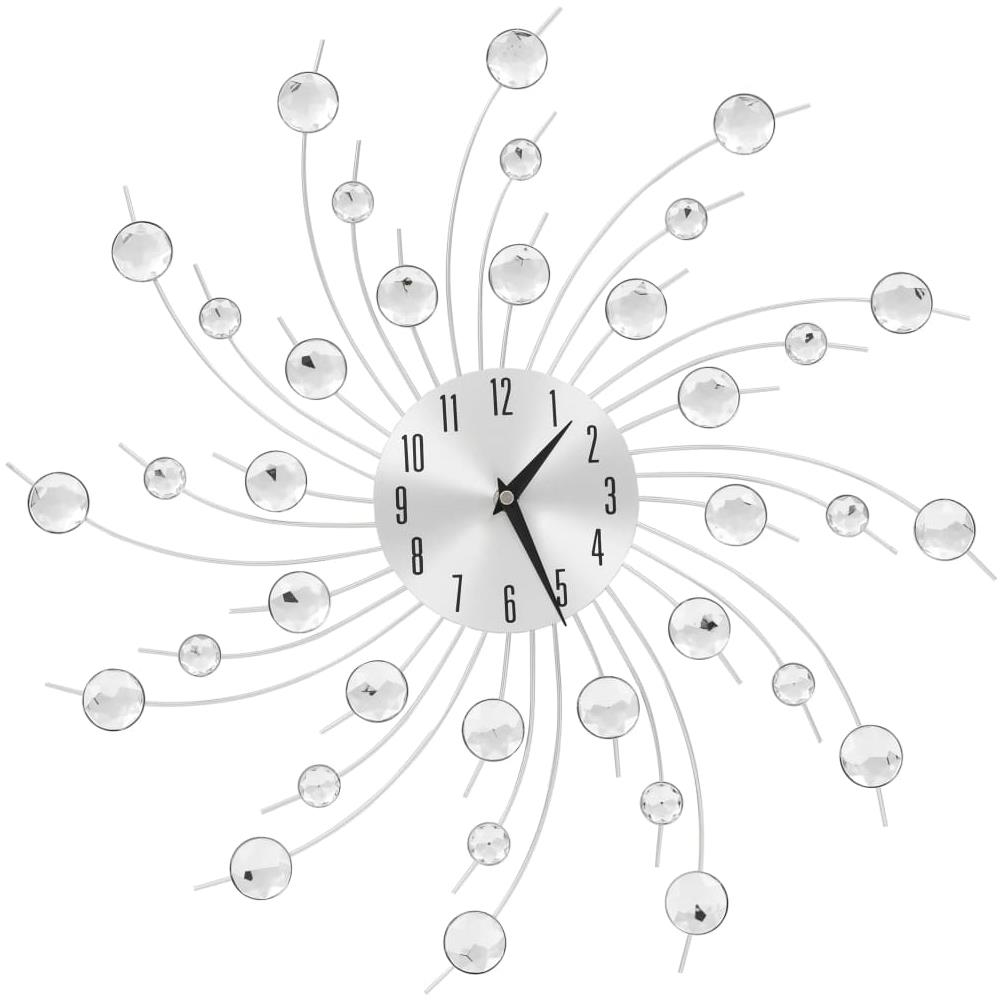 Si va dal vintage a quelli più moderni, fino ad arrivare ai particolari orologi da parete di design, veri e propri oggetti d'arredo. Vidaxl Orologio Da Parete Con Movimento Al Quarzo Design Moderno 50 Cm Eprice