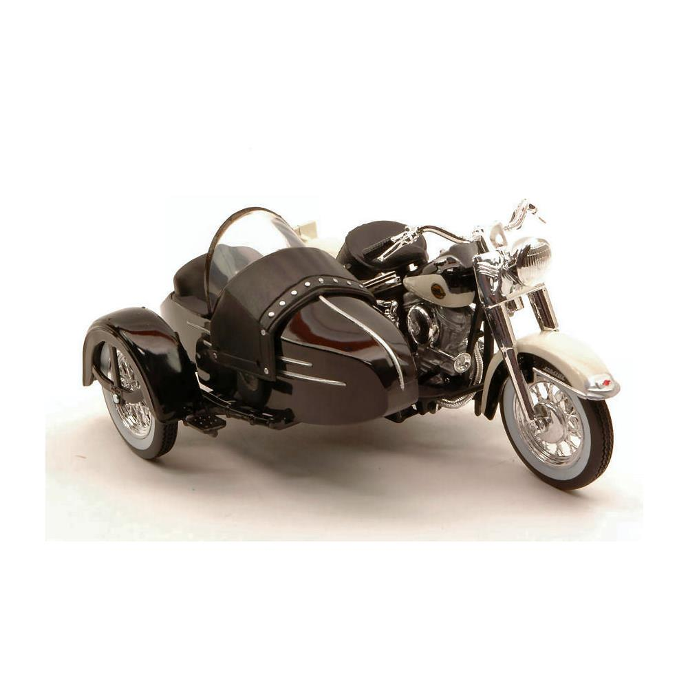 hight resolution of maisto harley davidson flh duo glide 1948 classic sidecar 1 18 hd custom modello da collezione eprice
