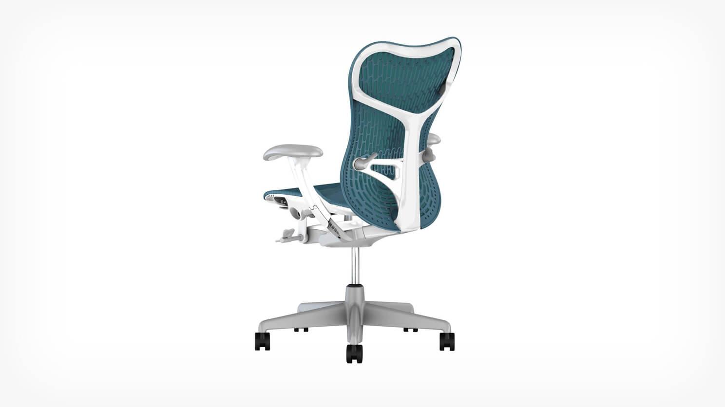 mirra 2 chair cheetah print folding eq3