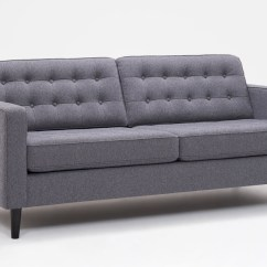 Reverie Sofa 3 Piece Sectional Apartment Fabric Eq3
