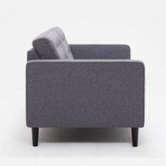Reverie Sofa Metropolitan Large Grey Sectional With Chaise Apartment Fabric Eq3