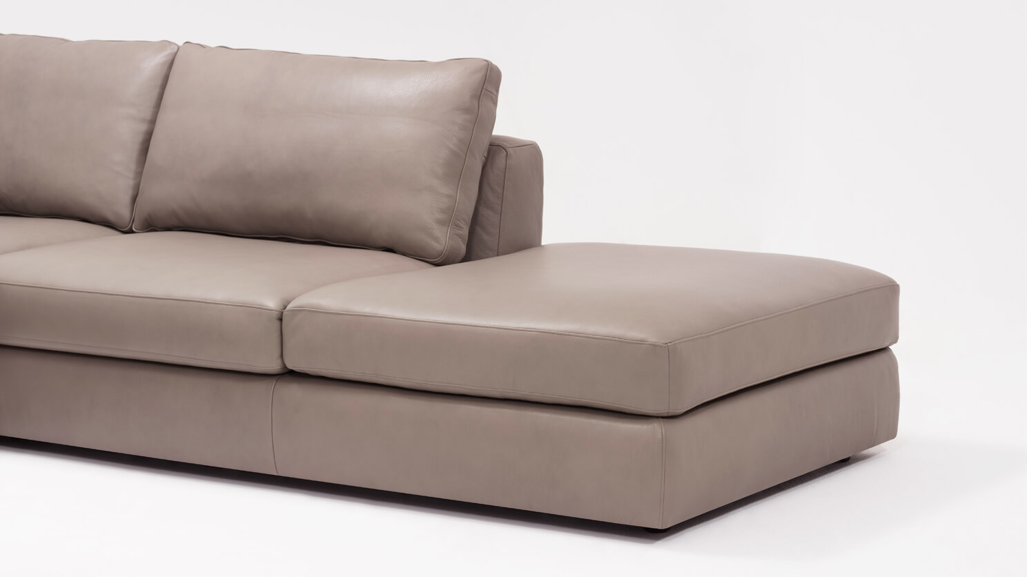 3 piece leather sectional sofa with chaise top rated manufacturers cello backless