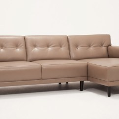 2 Piece Sectional Sofa Chaise Hospitality Bed Hickory Springs Sleeper Repair Kit Remi With Leather Eq3