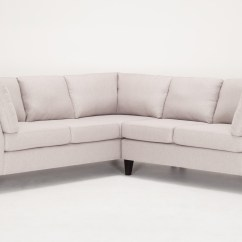 Montreal Sectional Sofa In Slate European Sofas Chicago Salema 2 Piece Fabric Eq3