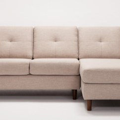 2 Piece Sectional Sofa Chaise Parker Knoll Bed Solo With Fabric Eq3