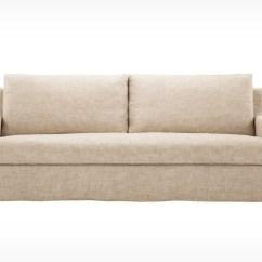 Custom Made Slipcovers For Sofas Canada Two Seat Sofa Bed Ransta Dark Grey Blanche Slipcover Eq3