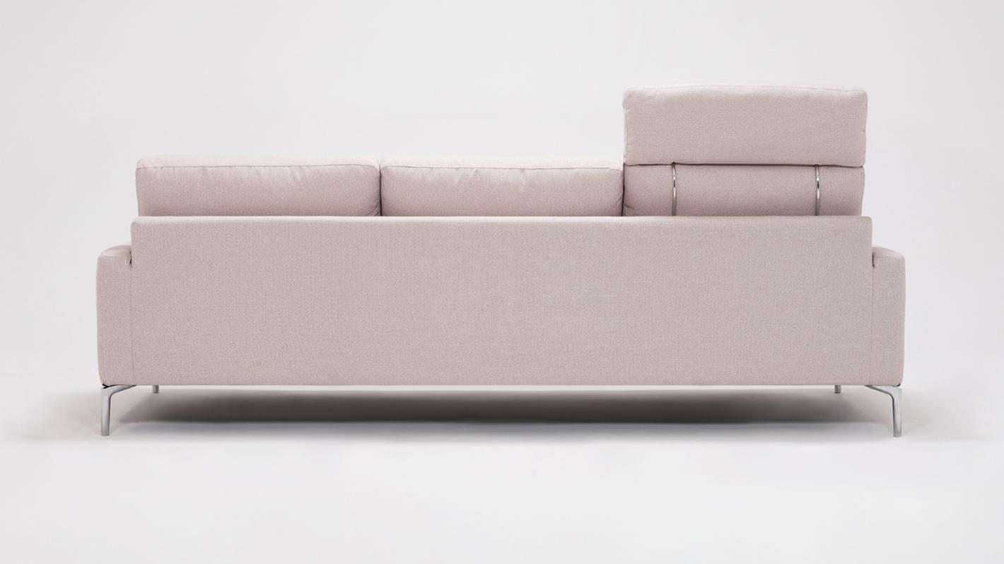 houndstooth sofa fabric pink corner uk baci living room