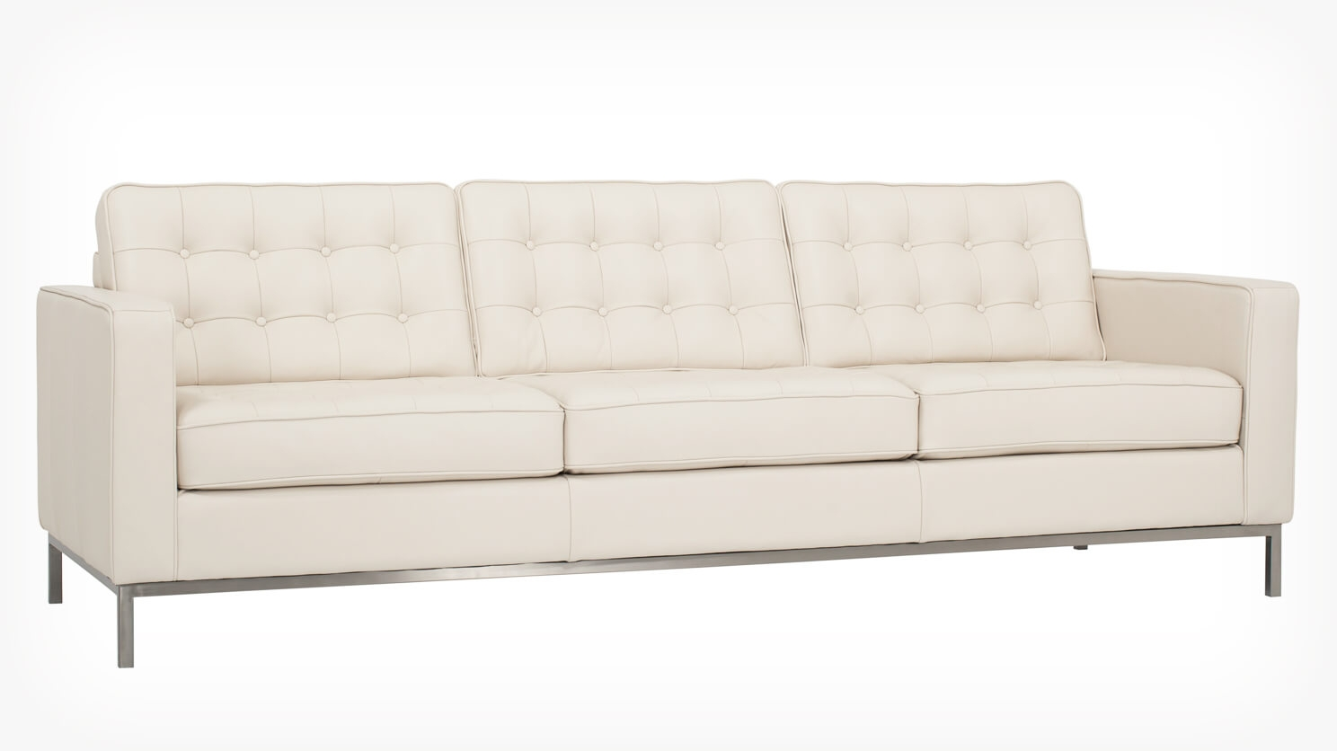 reverie sofa love your lounge sofas 92 quot leather eq3