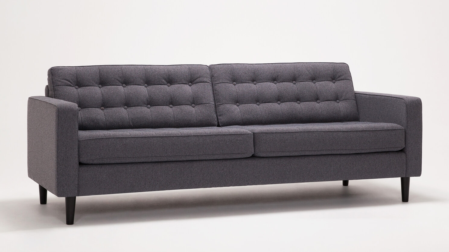 reverie sofa manhattan leather sleeper 86 quot fabric eq3