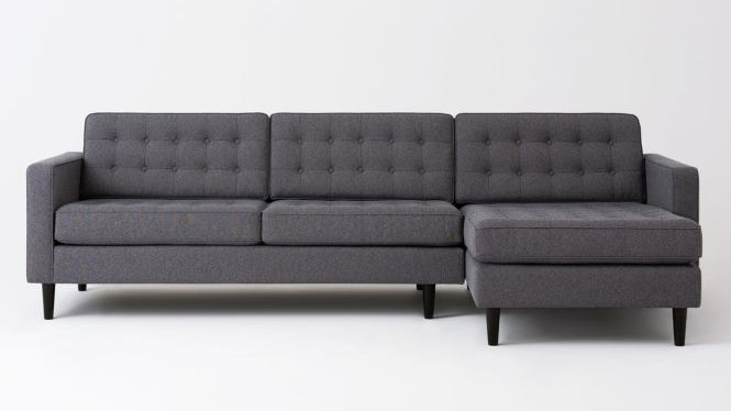 Apartment 2 Piece Sectional Sofa