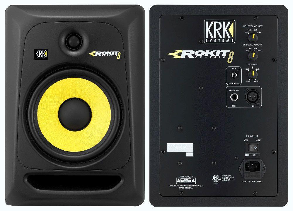 Image result for music monitors krk rokit