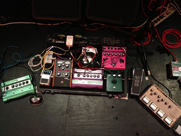 Image result for kurt vile pedalboard